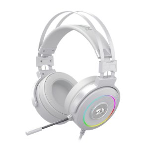 Headset Redragon Lamia 2 Lunar White RGB USB H320W