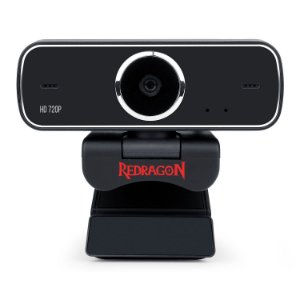 Webcam Redragon Streaming Fobos, HD 720p - GW600