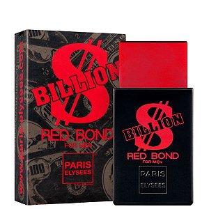 Paris Elysees Billion Red Bond for Men EDT 100ml