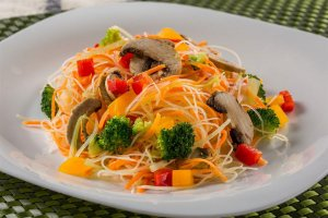 DX5MS - Biffum de vegetais e cogumelos