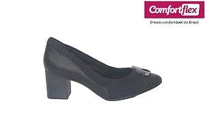 Sapato Casual Feminino Comfortflex 20.54305 - Preto
