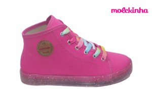 Tênis Infantil Molekinha 2524.517 - Rosa