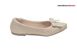 Sapatilha Infantil Menina Shoes 6.615 - Bege