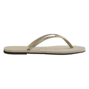 Chinelo Feminino Havaianas You Shine - Bege