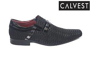 Sapato Social Maculino Calvest 3480D154 - Preto