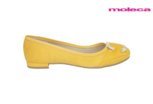 Sapatilha Feminina Moleca 5671.107 - Amarelo