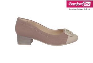 Sapato Casual Feminino Comfortflex 20.86303 - Nude