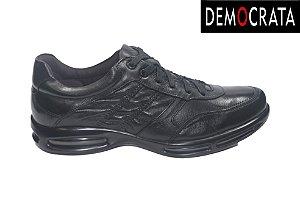 Sapato Social Masculino Democrata 114103 - Air - Preto