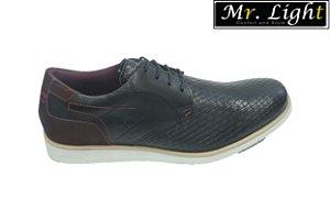 Sapato Casual Mr. Light 606 - Preto