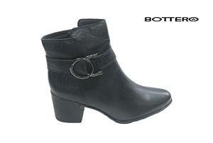 Bota Bottero c/b-s/a 314705 - Couro - Preto