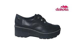 Sapato Dakota Femino OXFORD G2573 - Preto