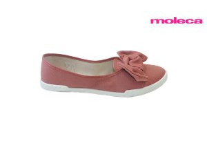 Sapatilha Moleca 5709.101 - Lona Blush
