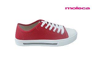 Tênis Moleca 5667.311 - Lona Vermelho
