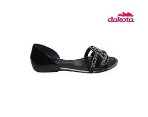 Sandalia Rasteira Dakota Z7192 - Preto