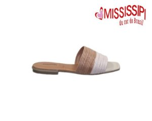 Chinelo Slide Mississipi Q3481 - Nude