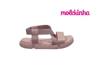Papete Infantil Feminina Molekinha 2329.100 - Rosa