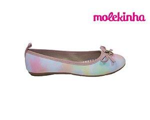 Sapatilha Infantil Feminina Molekinha 2502.364 - Multicolor