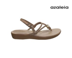 Sandalia Rasteira Azaleia 364/492 -  Bege