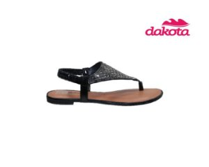 Sandalia Rasteira Dakota Z6951 - Preto