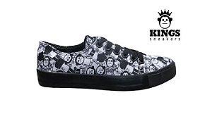 Tênis Masculino Kings KG0045 - Preto