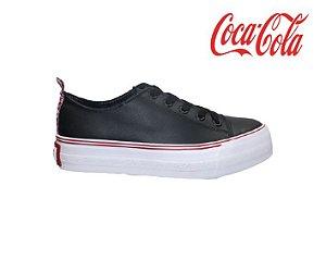 Tênis Feminino Coca Cola CC1799 - Preto