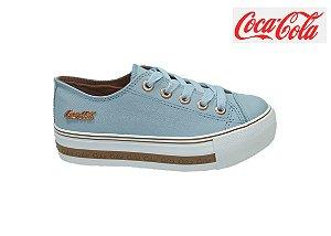 Tênis Coca-Cola Plataforma Feminino CC1775 - MALVA