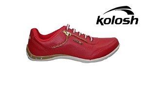 Tênis Feminino Kolosh C0622A - Vermelho