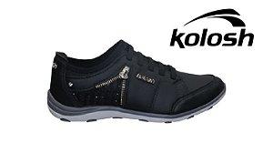 Tênis Feminino Kolosh C1266 - Preto
