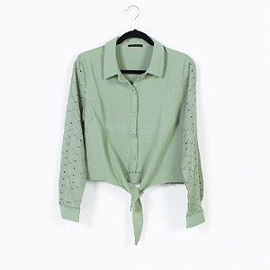 Camisa M/L Lese com Amarração