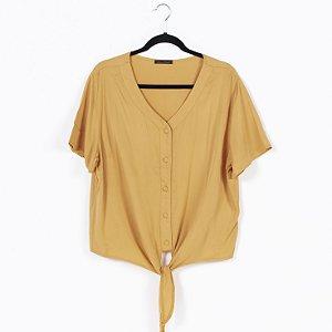 Camisa M/C com Amarração