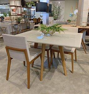 Conjunto Mesa Mila + 04 Cadeiras Luci (PROMO)