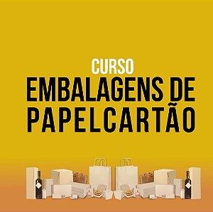 CURSO EMBALAGENS PAPELCARTÃO (c/Kit de Referência em Embalagens + livros)