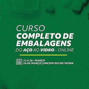 CURSO COMPLETO DE EMBALAGENS (c/Kit de Referência em Embalagens + livros)