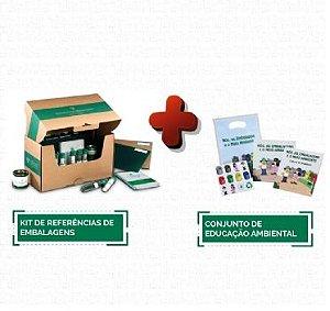 Kit de Referência em Embalagens + Conjunto de Educação Ambiental