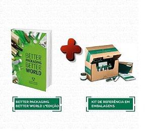 Kit de Referência em Embalagens + de 70 amostras de materiais + Better Packaging. Better World - 1ºEdição