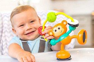 Brinquedo Interativo Infantino Macaco de Atividades com Sucção na Base