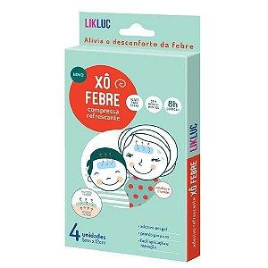 Xo Febre - compressas refrescantes para alivio da febre