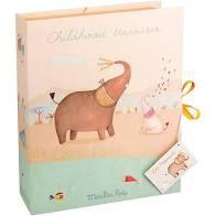 Caixa dos primeiros tesouros do beb? Les Papoum Savana Elefante MR