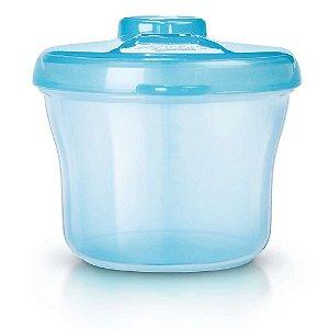 Porta leite em pó 260ml Avent - Azul