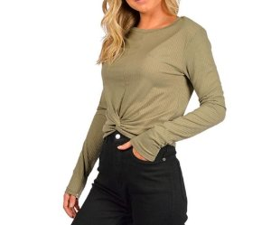BLUSA RIP CURL STORY TELL DUSTY GREEN