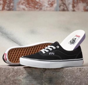 TÊNIS VANS SKATE ERA BLACK WHITE