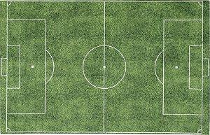 Tapete Infantil 0,80 X 1,25 Campo Futebol