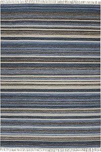 Tapete Kilim Barach 2,00 X 3,00 NK350/Natural/Azul