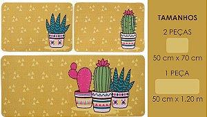 Jogo Cozinha Gourmet Norte 3 PçS Cactus