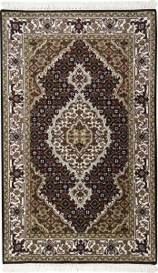 Tapete Tabriz Mahi 0,77 X 1,23 Indiano L0066657