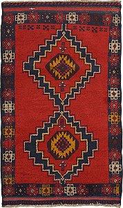 Tapete Nomade 0,87 X 1,42 Afegão 158626