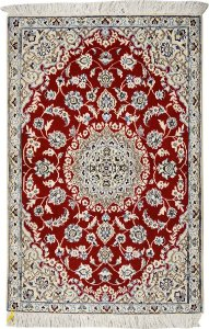 Tapete Nain 0,89 X 1,37 Iraniano L0069647