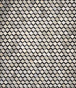 Tapete/Boi Muniz 2,50 X 3,00 Gris/Grey/Preto M²