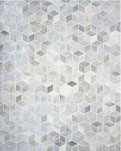 Tapete/Boi Soturno 3,00 X 4,00 Branco/Gris/Grey