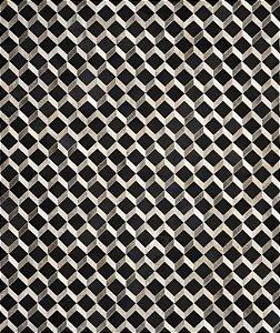 Tapete/Boi Muniz 2,00 X 2,50 Gris/Grey/Preto